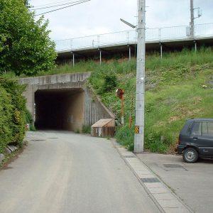 国道4号線下トンネル