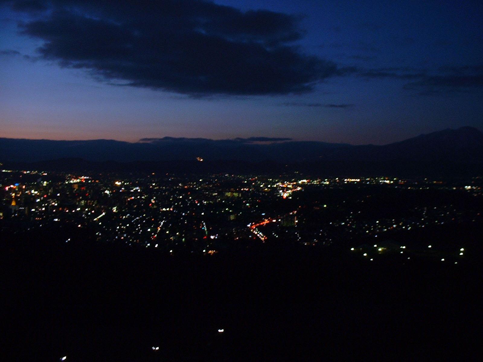 盛岡遠夜景