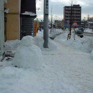 2003年01月トップ画像 03 雪だるま