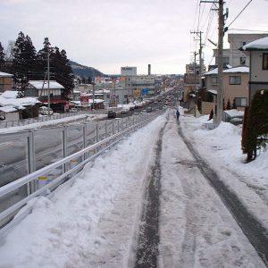 2003年02月トップ画像 01 この先まっすぐ東京