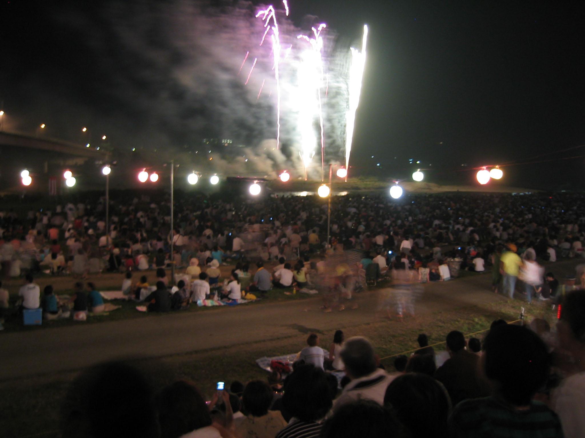 盛岡花火の祭典2005 2