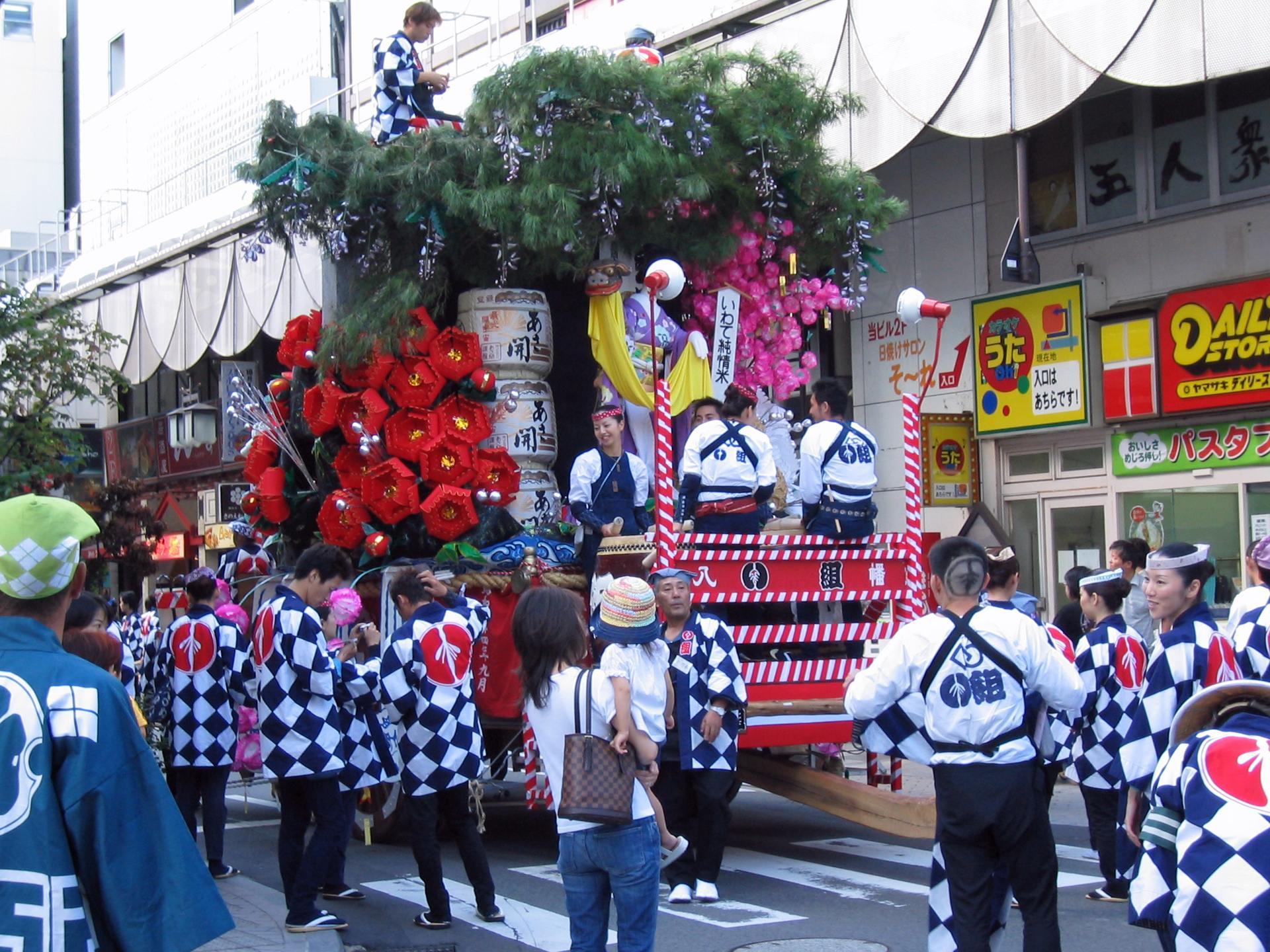 八幡さまの秋祭り[昼編] 1