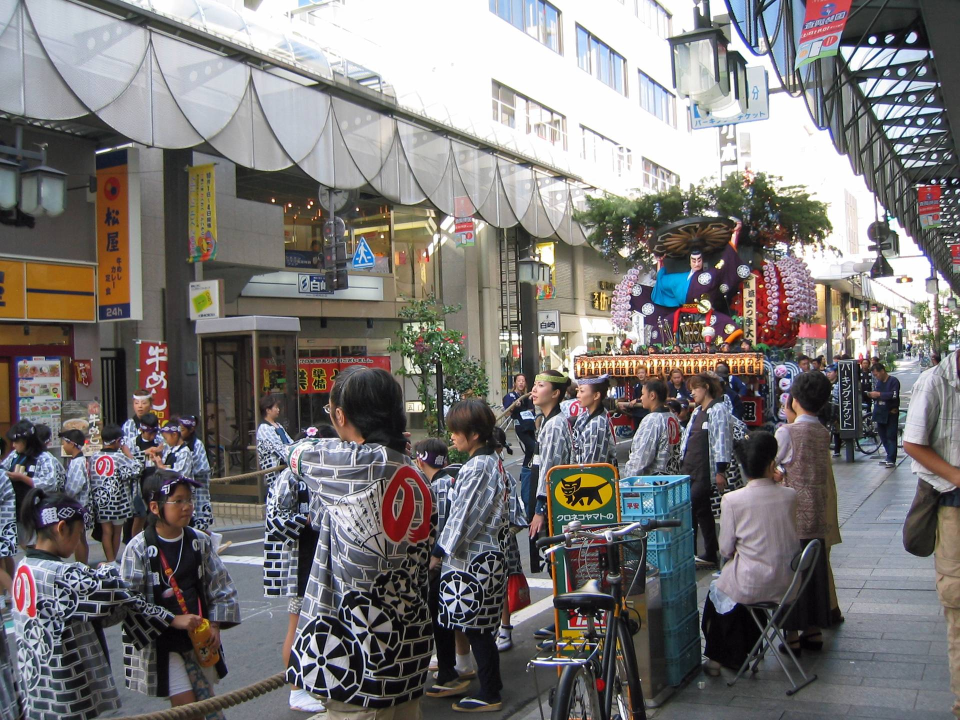八幡さまの秋祭り[昼編] 3