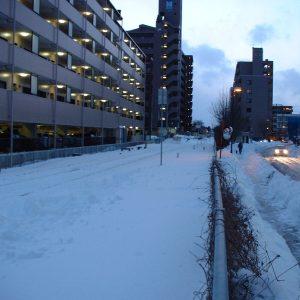 2002年01月トップ画像 03 豪雪後の線路